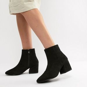 RAID Wide fit ankle length boots